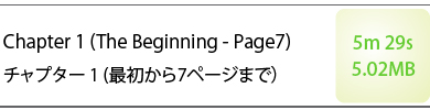 Chapter1 (The Beginning - Page7) チャプター1(最初から7ページまで) 5m29s 5.02MB